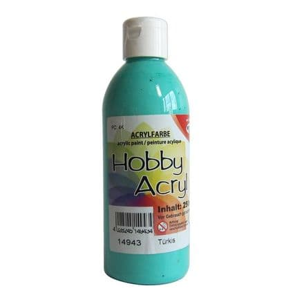 Turquoise Acrylic Paint - 100ml (Item No: 14913)