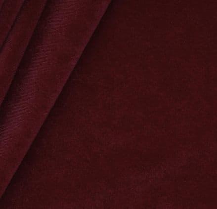 Venetian Velvet Fabric 150cm -  922 (Burgundy)