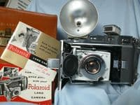 '        110A Complete Outfit -CASED-RARE- ' Polaroid 110A Camera c/w Ysarex 127mm f4.7 Lens £159.99