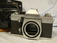 ' 42MM ' Praktica LTL M42 SLR Camera Cased   £4.99