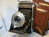 '   6x9 Agfa Billy Record ' Agfa Billy Record 6X9 Vintage Folding Camera c/w 4.5 105mm Radionar Lens £39.99