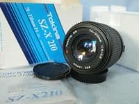 ' 70-210mm ' 70-210mm Olympus OM Fit Zoom Macro Lens Boxed + Inst -MINT-  £12.99