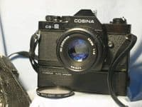 '       CS-2 + 50MM + Winder ' Cosina CS-2 Pentax K Fit SLR Camera £24.99