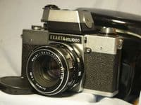'                    EXAKTA RTL1000 c/w 1.8 50mm Meyer Oreston ' Exakta RTL1000 SLR Camera  £49.99