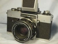 '     EXAKTA RTL1000 + Meyer Oreston Lens -NICE- '   Exakta RTL1000 Vintage SLR Camera + Oreston 50mm  Lens   -NICE- £59.99