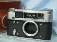 ' FED 4 ' Fed 4 Cased Rangefinder Camera £12.99