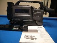 '    GY-X2 S-VHS Professional + Inst -NICE- ' JVC GY-X2 Broadcast Quality S-VHS Camera + Inst + Tripod Mount Plate -NICE SET- £99.99