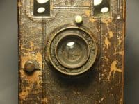 '           Large Box Camera c/w Early Zeiss 150mm Lens -VERY RARE' Box Camera c/w Zeiss Lens £79.99